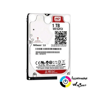 "1TB WD 2.5"" Red SATAIII notebook winchester (WD10JFCX)"