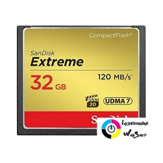 32GB Compact Flash Sandisk Extreme (SDCFXS-032G / 124093)