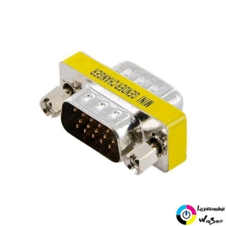 4World Adapter VGA Male -> VGA Male /08745/