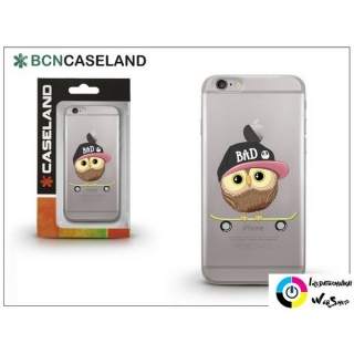 BCNCaseland Skater Owl Apple iPhone 7 Plus hátlap átlátszó (CLI7PL057)