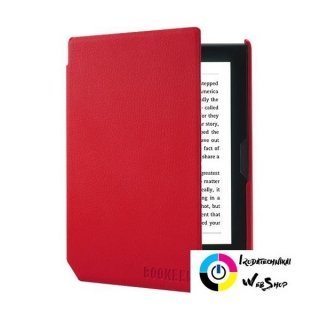 Bookeen Cybook Muse eBook tok piros (COVERCFT-RV)