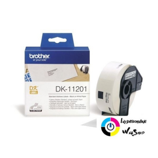 Brother P-touch DK-11201 címke