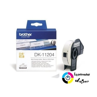 Brother P-touch DK-11204 címke