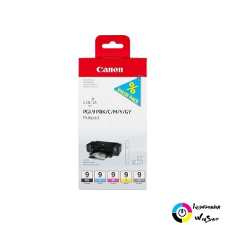 Canon PGI-9 PBK/C/M/Y/GY Multipack tintapatron  (1034B013)