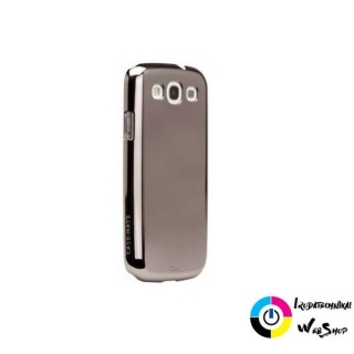 Case-Mate Barely There Samsung GT-i9300 Galaxy S3 hátlap tok ezüst (CM021148)