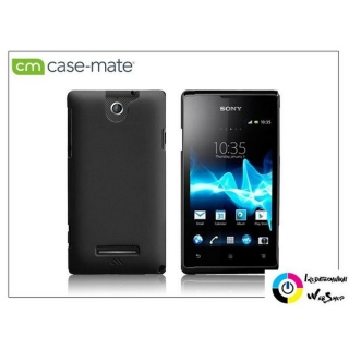 Case-Mate Barely There Sony Xperia E (C1505) hátlap tok fekete (CM025819)