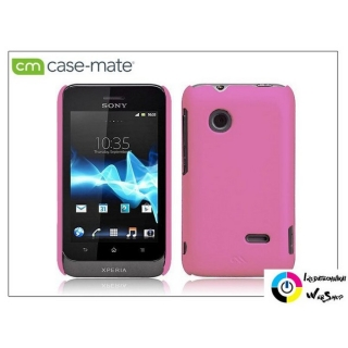 Case-Mate Smooth Sony Xperia Go (ST27i) hátlap pink (CM022875)