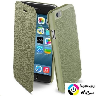 Cellularline Book Color iPhone 6 Flip tok zöld (BOOKCOLORIPH647G)