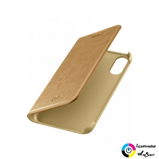 Cellularline Book Essential iPhone X flip tok barna (BOOKESSIPH8N)