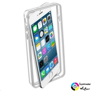 Cellularline Bumper iPhone 6 tok fehér (BUMPERIPH647W)