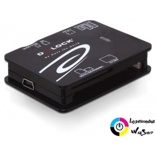 DeLock DL91471 kártyaolvasó USB2.0 ALL in 1
