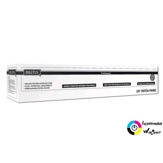 "Digitus DN-91516S patch Panel 16 port 1U 19"" CAT 5e árnyékolt"