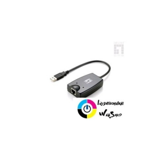 LevelOne USB-0401 USB 2.0 átalakító Gigabit Ethernet-re