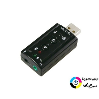 LogiLink UA0078 USB 2.0  audió adapter