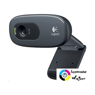 Logitech WebCam C270 HD webkamera fekete /960-001063/