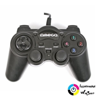 Omega OGP85 Gamepad Interceptor PC USB Blister