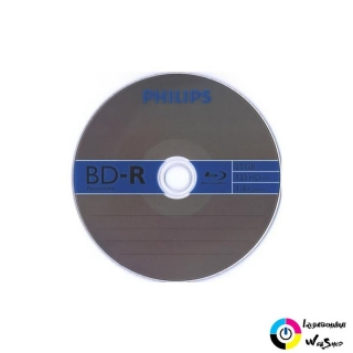 Philips BD-R 25GB 6X Blu-Ray lemez
