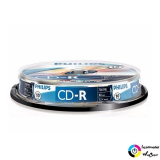Philips CD-R 80'/700MB lemez hengeres 10db/cs