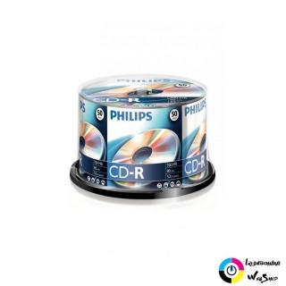 Philips CD-R 80'/700MB lemez hengeres 50db/cs