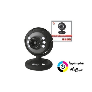 Trust 16429 Spotlight Webcam - fekete