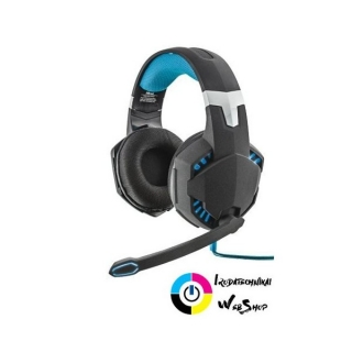 Trust GXT363 7.1 Surround Gaming Headset fekete-kék (20407)