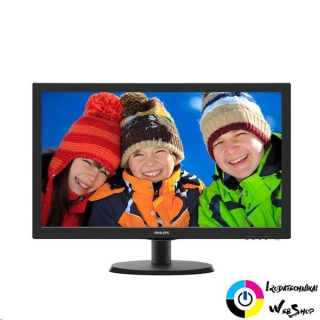 "22"" Philips 223V5LHSB2/00 LED monitor fekete"