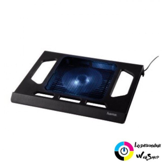"Hama 17.3"" notebook hűtő ""Black Edition"" fekete /53070/"